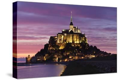 Mont Saint Michel at Sunset
