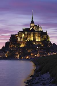 Mont Saint Michel at Sunset by Markus Lange