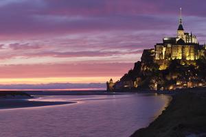 Mont Saint Michel, UNESCO World Heritage Site, Manche, Basse Normandy, France, Europe by Markus Lange