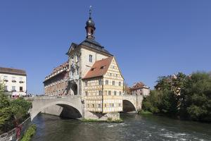 Old Town Hall, UNESCO World Heritage Site, Regnitz River, Bamberg, Franconia, Bavaria, Germany by Markus Lange