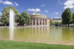 Opera House, Eckensee Lake, Schlosspark, Stuttgart, Baden-Wurttemberg, Germany by Markus Lange