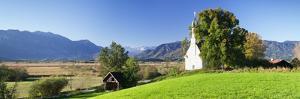 Ramsachkircherl Church, Murnauer Moos Moor, Murnau Am Staffelsee, Upper Bavaria, Bavaria, Germany by Markus Lange
