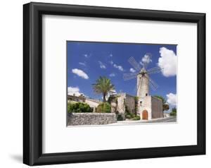 Restaurant in a Windmill, Sineu, Majorca (Mallorca), Balearic Islands, Spain, Mediterranean, Europe by Markus Lange