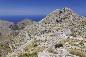 Serpentine Road to the Bay Cala De Sa Calobra by Markus Lange