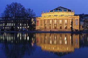 Staatstheater (Stuttgart Theatre and Opera House) at Night by Markus Lange