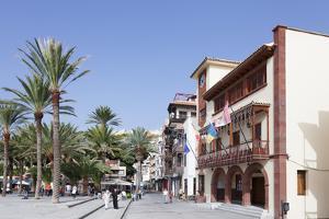 Town Hall at Plaza De Las Americas Square, San Sebastian, La Gomera, Canary Islands, Spain, Europe by Markus Lange