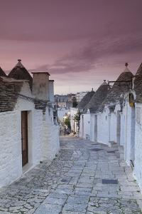 Trulli Houses, Part of Town Monti, Alberobello, Province of Bari, Apulia, Italy by Markus Lange