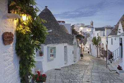 Trulli, traditional houses, Rione Monti area, Alberobello, UNESCO World Heritage Site, Valle d'Itri