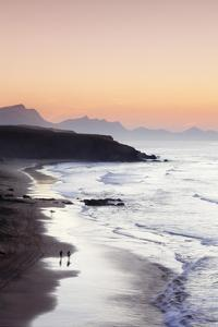 View from Playa Del Viejo to the Peninsula of Jandia by Markus Lange