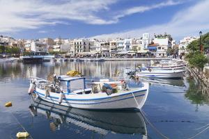 Voulismeni Lake, Agios Nikolaos, Crete, Greek Islands, Greece, Europe by Markus Lange