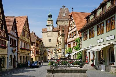 Markus Tower and Roder Arch, Rothenburg Ob Der Tauber, Romantic Road-Robert Harding-Photographic Print