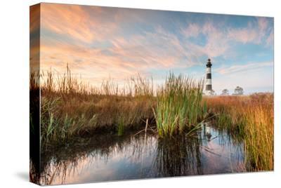 Bodie Island Lighthouse Coastal Marsh Landscape