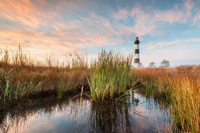 Bodie Island Lighthouse Coastal Marsh Landscape by markvandyke