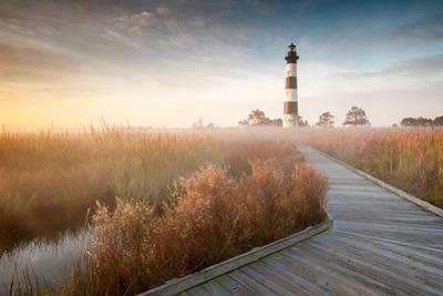 Bodie Island Lighthouse North Carolina Outer Banks by markvandyke