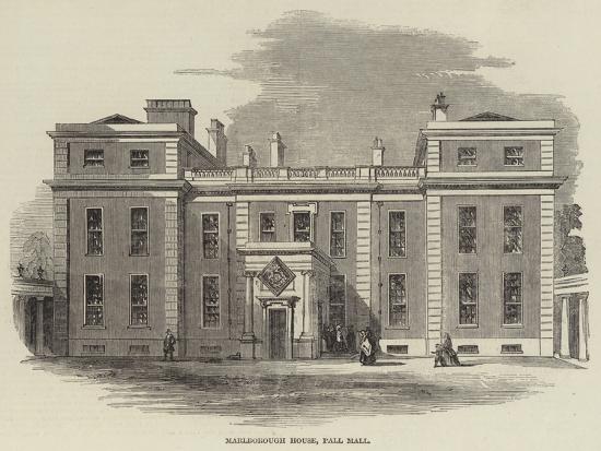 Marlborough House, Pall Mall--Giclee Print