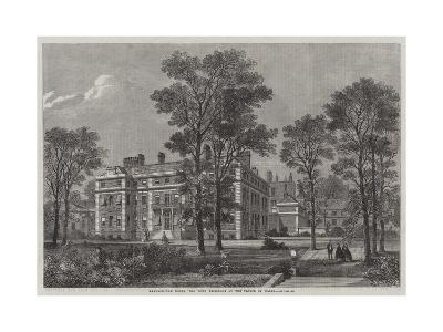 Marlborough House, the Town Residence of the Prince of Wales--Giclee Print
