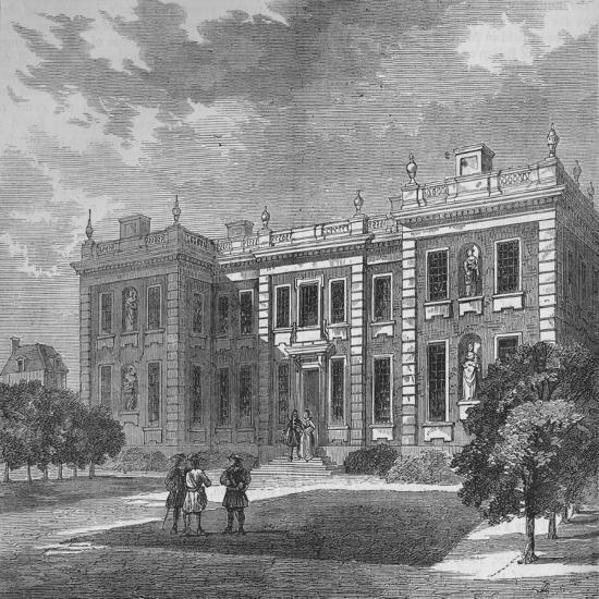 Marlborough House, Westminster, London, c1710 (1878)-Unknown-Giclee Print