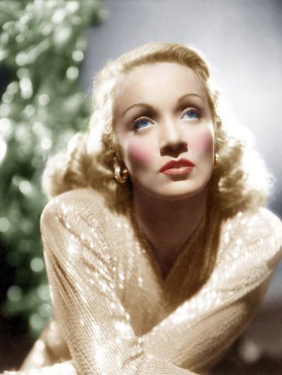 Marlene Dietrich, ca. 1930s--Photo
