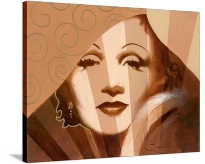 Marlene in T. Limelight-Joadoor-Stretched Canvas Print