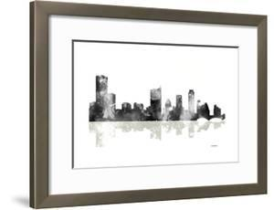 Austin Texas Skyline BG 1 by Marlene Watson