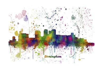 Birmingham Alabama Skyline MCLR 1
