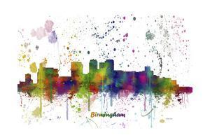Birmingham Alabama Skyline MCLR 1 by Marlene Watson