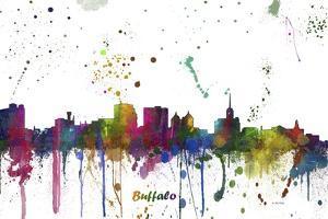Buffalo New York Skyline MCLR 1 by Marlene Watson