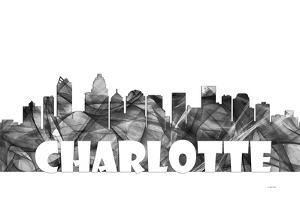 Charlotte NC Skyline BG 2 by Marlene Watson