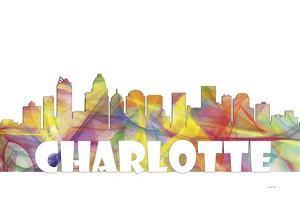 Charlotte NC Skyline Mclr 2 by Marlene Watson