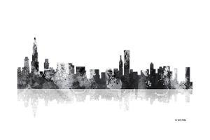 Chicago Illinois Skyline BG 1 by Marlene Watson