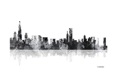 Chicago Illinois Skyline BG 1