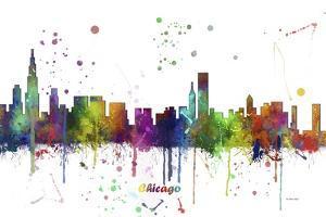 Chicago Illinois Skyline MCLR 1 by Marlene Watson