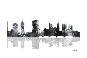 Columbus Ohio Skyline BG 1 by Marlene Watson