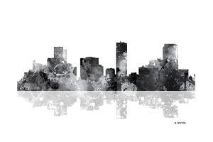 Denver Colorado Skyline BG 1 by Marlene Watson