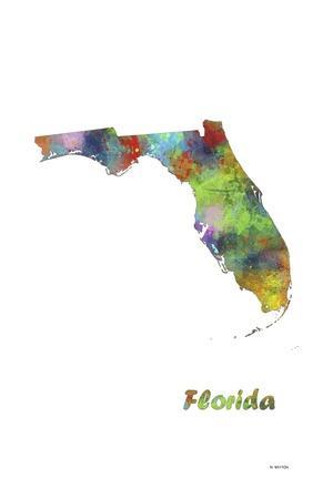 Florida State Map 1
