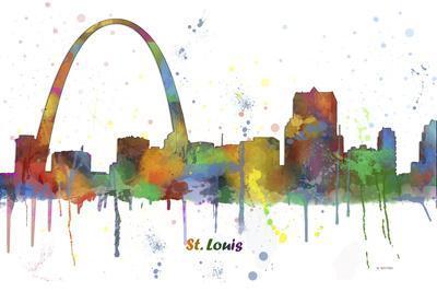 Gateway Arch St Loius Missouri Skyline MCLR 1
