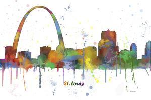 Gateway Arch St Loius Missouri Skyline MCLR 1 by Marlene Watson
