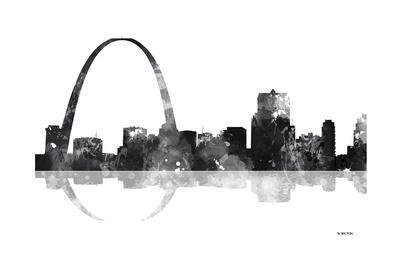 Gateway Arch St Louis Missouri Skyline BG 1