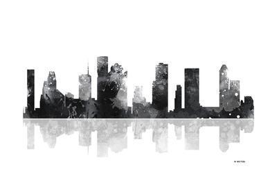 Houston Texas Skyline BG 1