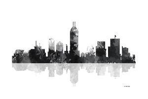 Indianapolis Indiana Skyline BG 1 by Marlene Watson