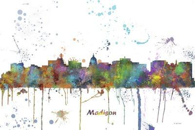 Madison Wisconsin Skyline MCLR 1