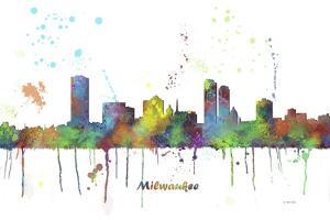 Milwaukee Wisconsin Skyline MCLR 1 by Marlene Watson