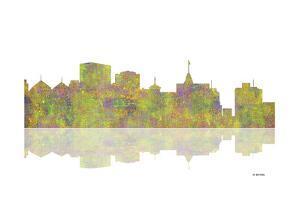 Oakland California Skyline 1 by Marlene Watson