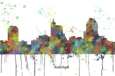 Raleigh North Carolina Skyline MCLR 1