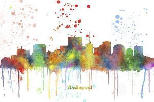 Richmond Virginia Skyline MCLR 1 by Marlene Watson