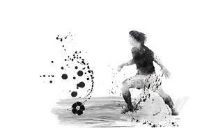 Soccer Player 08 by Marlene Watson