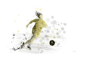 Soccer Player 09 by Marlene Watson