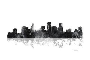 St Paul Minnesota Skyline BG 1 by Marlene Watson
