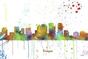 Tampa Florida Skyline MCLR 1 by Marlene Watson