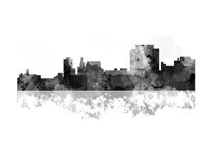 Trenton New Jersey Skyline BG 1 by Marlene Watson